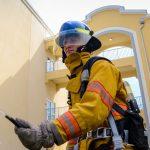 strój strażaka